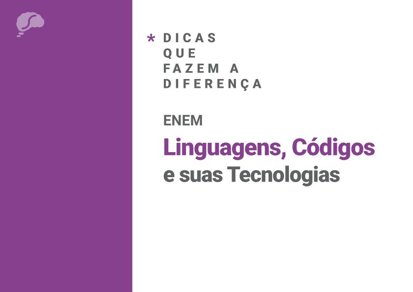 Dicas que fazem a diferença: Linguagens