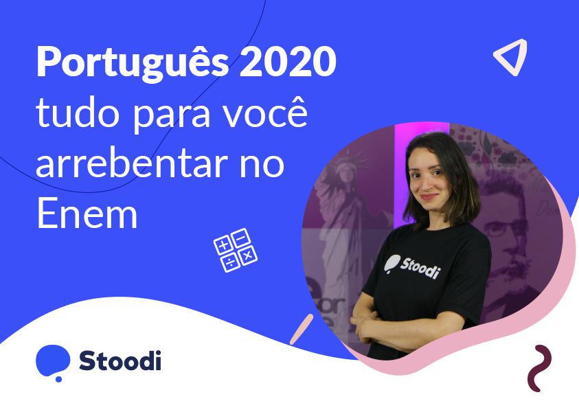 E-book de Português para o Enem 2020